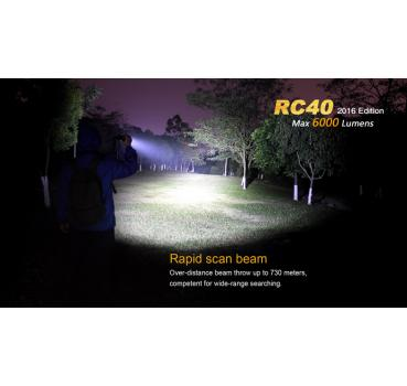 Fenix RC40 XM-L2 U2 LED 6000 Lumen
