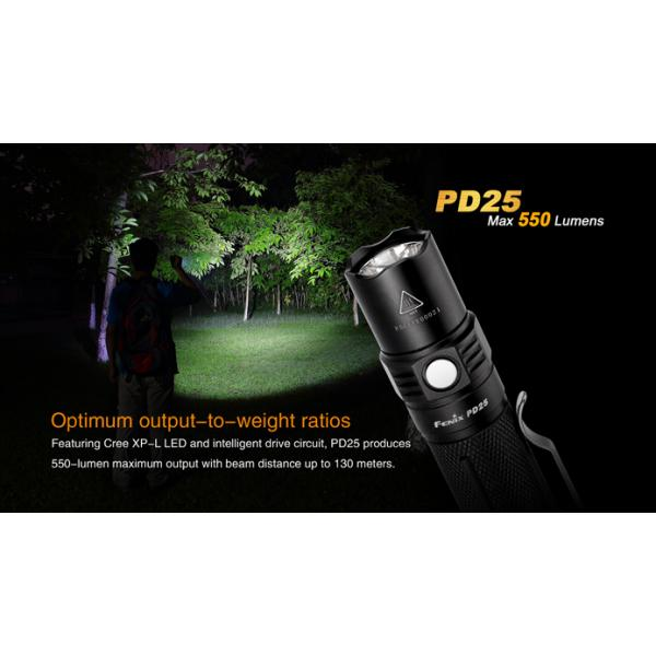Fenix PD25 Cree XP-L V5 LED 550 Lumen